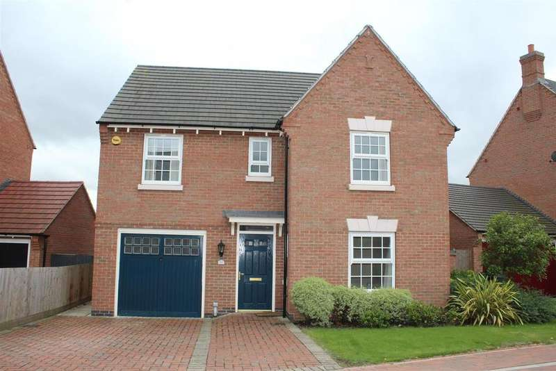 4 Bedrooms Detached House for sale in Charlotte Way, Peterborough