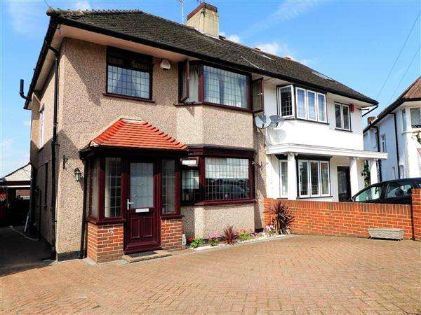 3 Bedrooms Semi Detached House for sale in Priory Close, London
