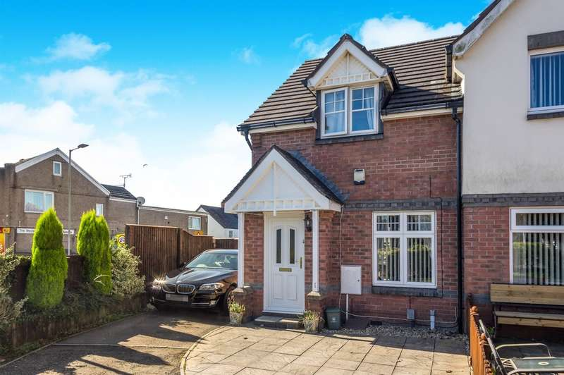 2 Bedrooms Semi Detached House for sale in Middle Road, Gendros, Swansea