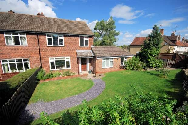 4 Bedrooms Semi Detached House for sale in Manor Road, Wendover, Buckinghamshire