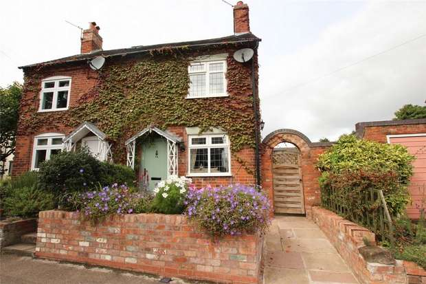 3 Bedrooms Cottage House for sale in Christchurch Lane, Lichfield, Staffordshire