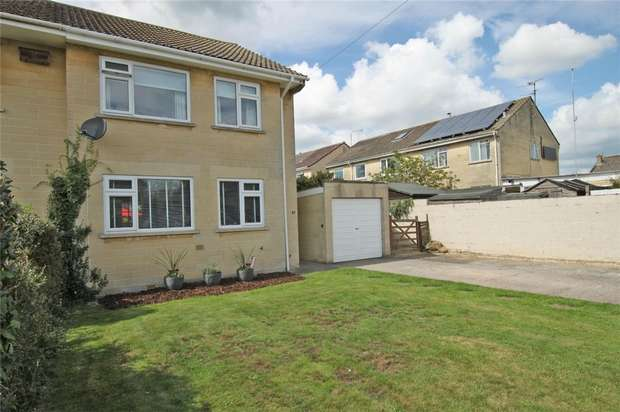 3 Bedrooms Semi Detached House for sale in 87 Downs View, Bradford on Avon, Wiltshire