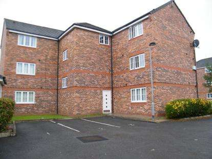 2 Bedrooms Flat for sale in Bannister Court, Winsford, Cheshire