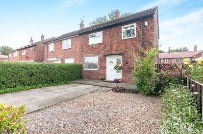 3 Bedrooms Semi Detached House for sale in Shadowmoss Road, Wythenshawe, Manchester
