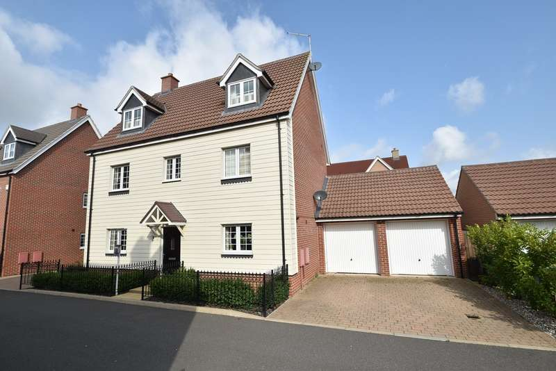 5 Bedrooms Detached House for sale in Haggerwood Way, Forest Hall Park