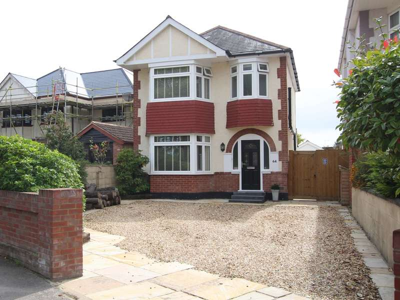3 Bedrooms Detached House for sale in Dorchester Road, Oakdale, Poole, BH15