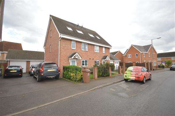 3 Bedrooms Terraced House for sale in ROCHESTER ROAD, CORBY