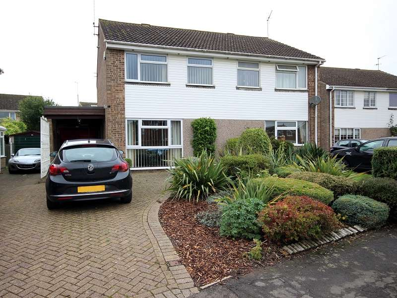 3 Bedrooms Semi Detached House for sale in Johns Road, Bugbrooke, Northampton, Northamptonshire. NN7 3PZ