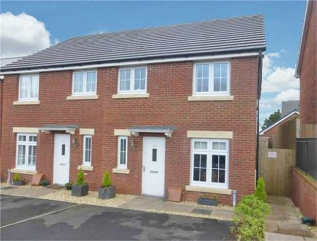 3 Bedrooms Semi Detached House for sale in Bryn Celyn, Llanharry, Pontyclun, Mid Glamorgan