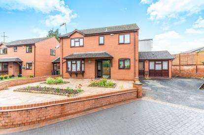 4 Bedrooms Detached House for sale in Bath Road, Worcester, Worcestershire, United Kingdom