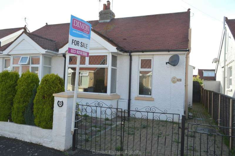 2 Bedrooms Semi Detached Bungalow for sale in Malvern Road, Gosport