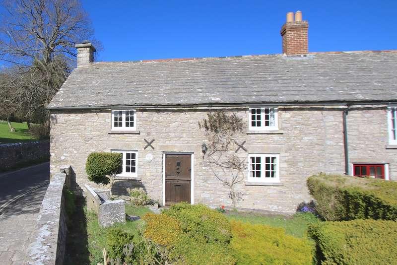3 Bedrooms Semi Detached House for sale in KINGSTON, Nr CORFE CASTLE