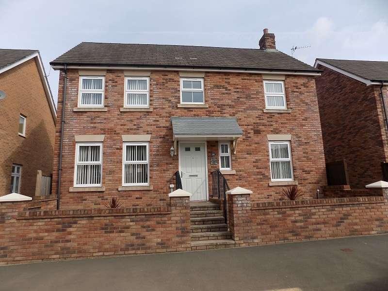 4 Bedrooms Detached House for sale in Heol Stradling , Coity, Bridgend. CF35 6AN