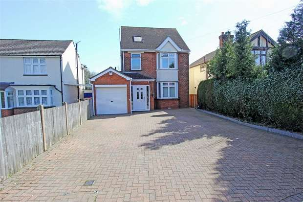 4 Bedrooms Detached House for sale in Borden Lane, Sittingbourne, Kent