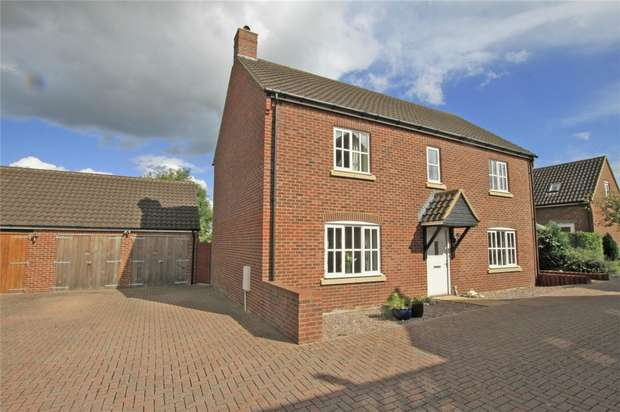 5 Bedrooms Detached House for sale in 8 Shepherds Drove, West Ashton, Wiltshire