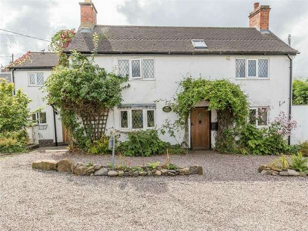4 Bedrooms Detached House for sale in Lower Moor Road, Coleorton, Coalville, Leicestershire