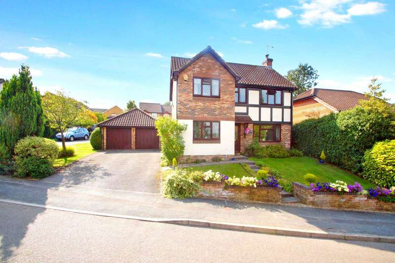 4 Bedrooms Detached House for sale in Betjeman Way, Gadebridge, Hemel Hempstead