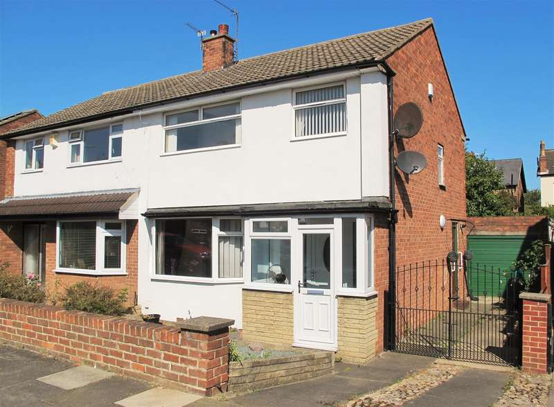 3 Bedrooms Semi Detached House for sale in Westbeck Gardens, Linthorpe, Middlesbrough, TS5 6RY
