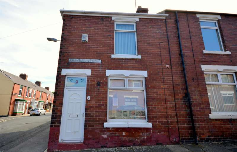 2 Bedrooms End Of Terrace House for sale in Freville Street, Shildon, DL4 1JT