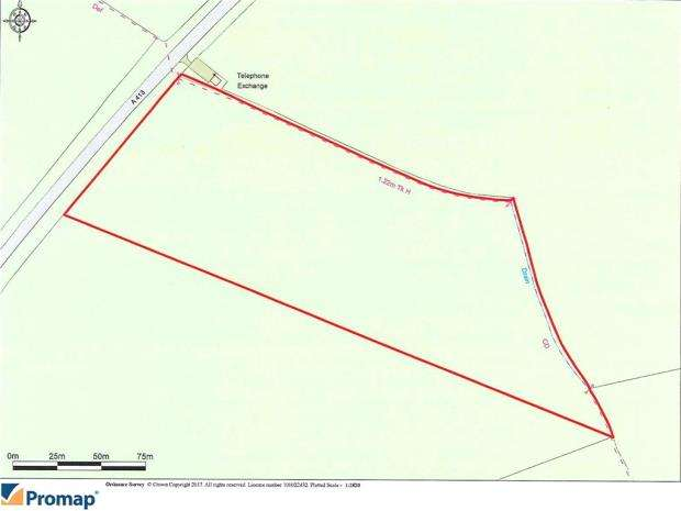 Land Commercial for sale in Plot 1, Land Off, Buckingham Road, Whitchurch
