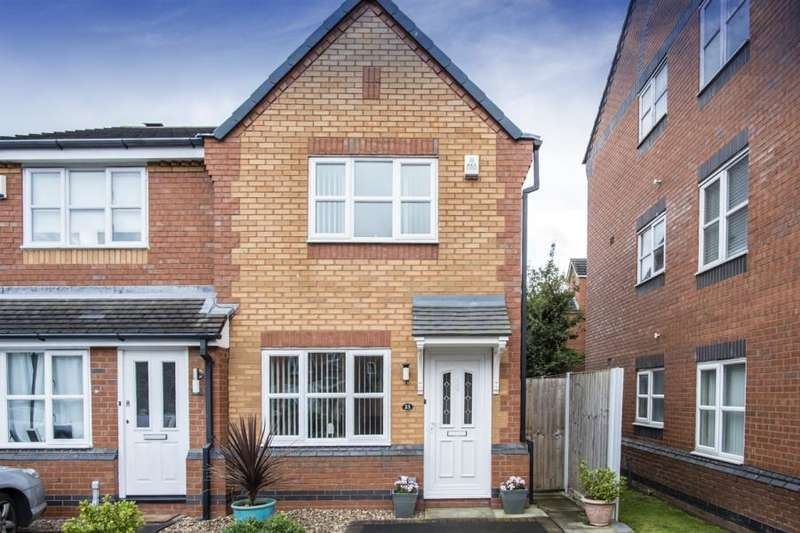 2 Bedrooms Semi Detached House for sale in Granary Way, Liverpool