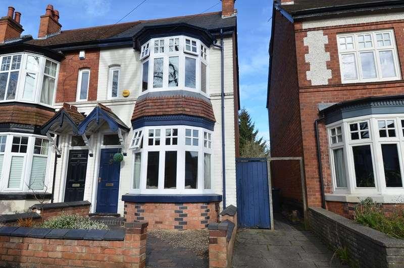 3 Bedrooms Semi Detached House for sale in Abbots Road, Kings Heath, Birmingham