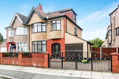 4 Bedrooms Semi Detached House for sale in Brownmoor Park, Crosby, Liverpool, Merseyside, L23
