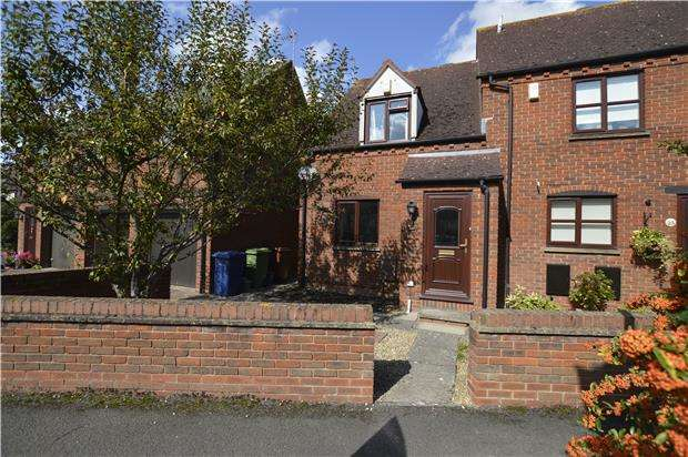 2 Bedrooms End Of Terrace House for sale in Farriers Reach, Bishops Cleeve, GL52 7UZ