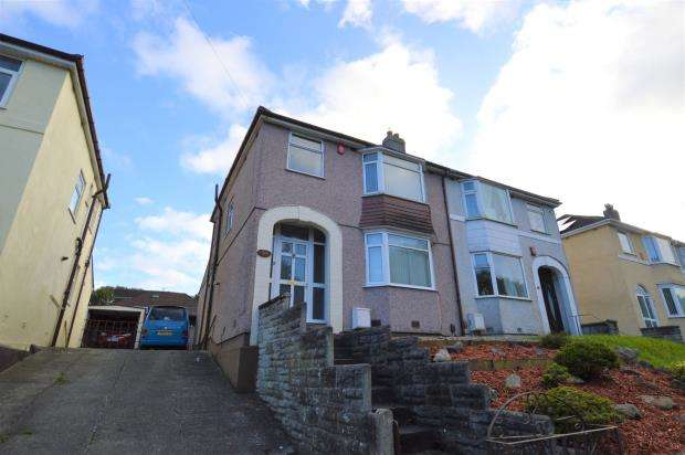 3 Bedrooms Semi Detached House for sale in Crownhill Road, Plymouth, Devon