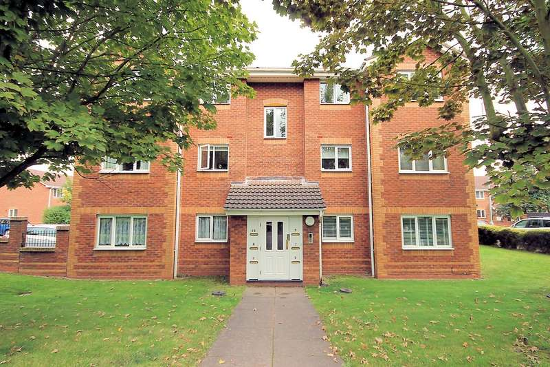 2 Bedrooms Flat for sale in Oxbridge Way, Tamworth, B79 7YL