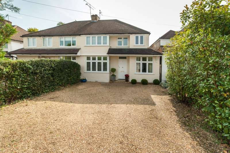 5 Bedrooms Semi Detached House for sale in How Wood, St. Albans, Hertfordshire, AL2