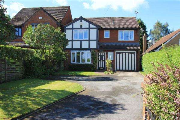 4 Bedrooms Detached House for sale in Chez Nous, Cannock Road, Brocton