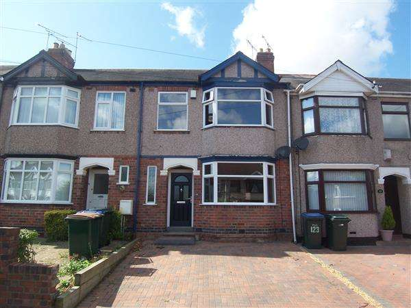 3 Bedrooms Terraced House for sale in Clovelly Road, Coventry