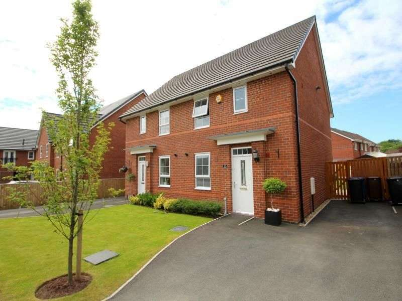 3 Bedrooms Semi Detached House for sale in Findley Cook Road, Wigan, WN3