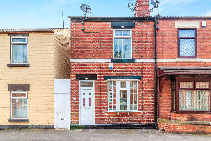 2 Bedrooms Terraced House for sale in Goosebutt Street, Parkgate, Rotherham, S62