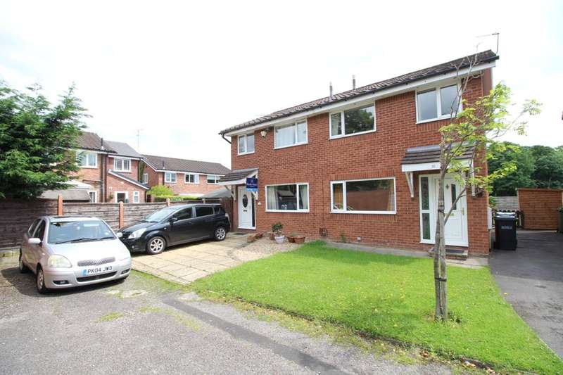 3 Bedrooms Semi Detached House for sale in Priory Drive, Macclesfield, SK10