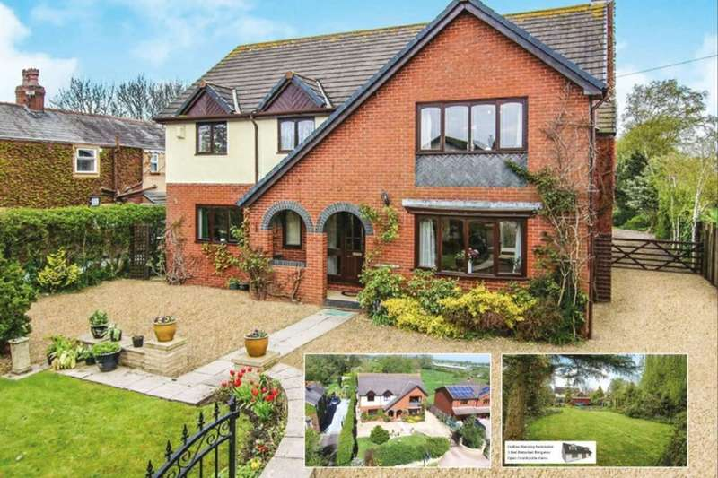 4 Bedrooms Detached House for sale in Smallwood Hey, Pilling, Preston, PR3