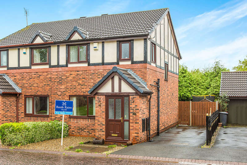 3 Bedrooms Semi Detached House for sale in Steeple View, Ashton-On-Ribble, Preston, PR2