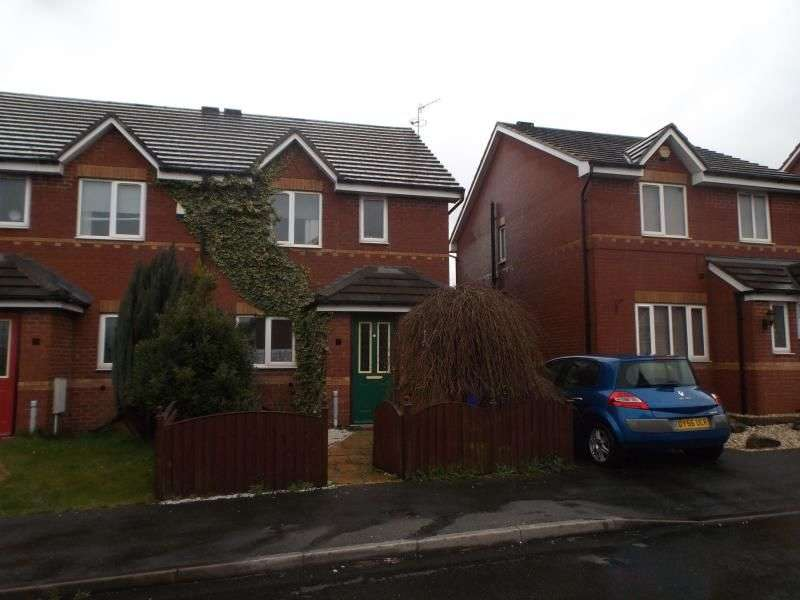 3 Bedrooms Semi Detached House for sale in Festival Close, Stoke-On-Trent, ST6