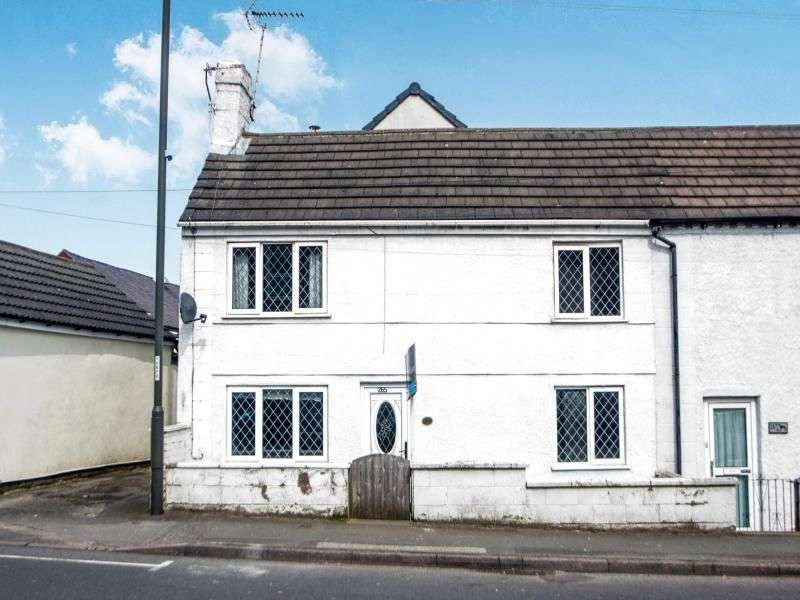2 Bedrooms Semi Detached House for sale in Somercotes Hill, Somercotes, Alfreton, DE55