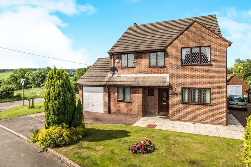 4 Bedrooms Detached House for sale in Meadow View Wessington Lane, South Wingfield, Alfreton, DE55