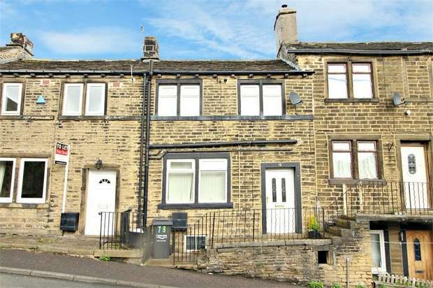 2 Bedrooms Terraced House for sale in Station Road, Holywell Green, Halifax, West Yorkshire