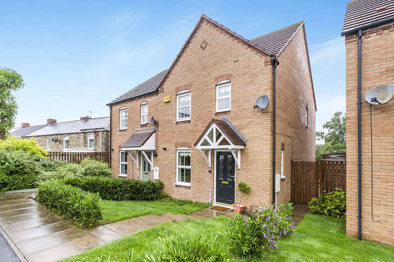 3 Bedrooms Semi Detached House for sale in Ewehurst Road, Dipton, Stanley, DH9