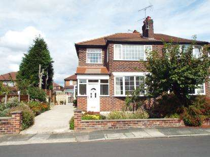 3 Bedrooms Semi Detached House for sale in Albury Drive, Manchester, Greater Manchester