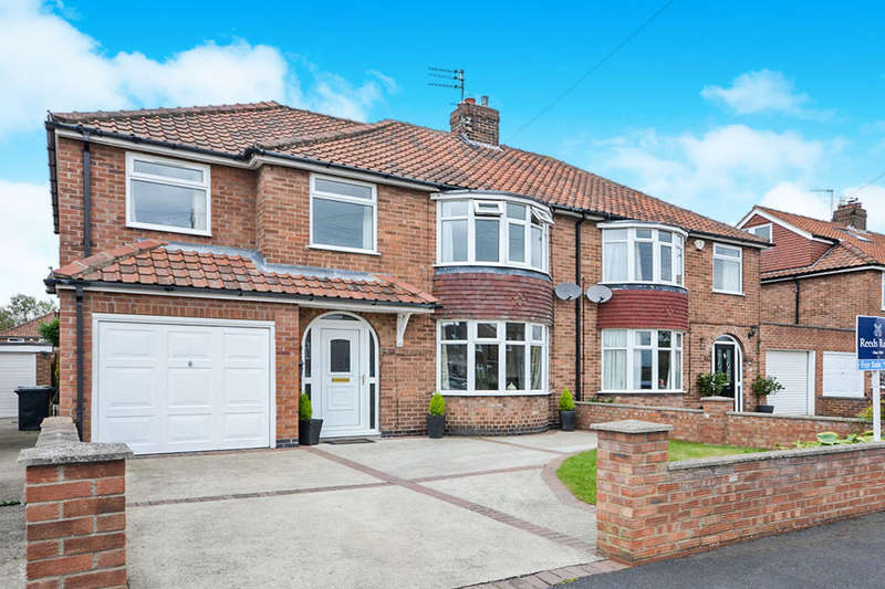 4 Bedrooms Semi Detached House for sale in Sitwell Grove, York, YO26