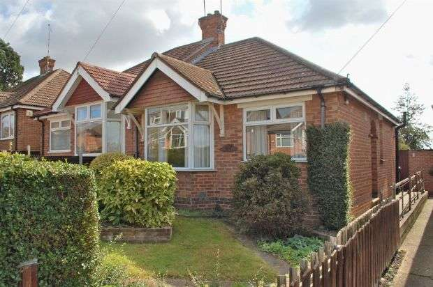 2 Bedrooms Semi Detached Bungalow for sale in Cameron Crescent, Duston, Northampton NN5 5PD