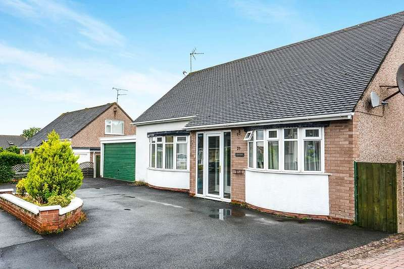 4 Bedrooms Detached Bungalow for sale in Bryn Twr, Abergele, LL22