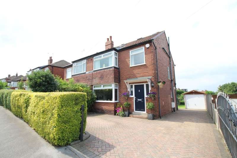 4 Bedrooms Semi Detached House for sale in Woodland Road, Whitkirk, Leeds, LS15