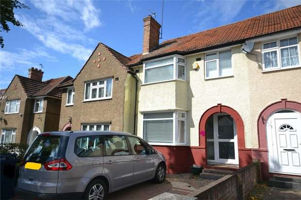 3 Bedrooms Terraced House for sale in Sherwood Avenue, GREENFORD, Middlesex