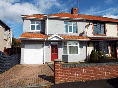 4 Bedrooms Semi Detached House for sale in Biddick Villas, Washington, Tyne and Wear, NE38